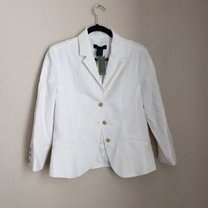 NWT The Limited White Stretch M